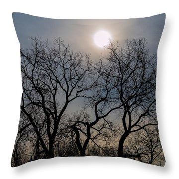 Jump Ball-2-lr Throw Pillow