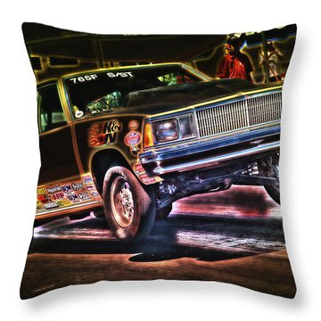 Jumping Chevelle Throw Pillow