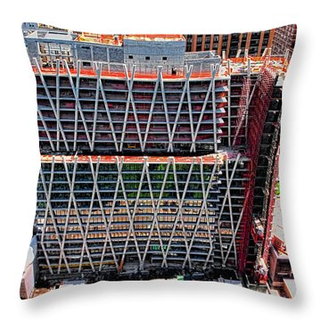 Jun 2014 Rear Above Throw Pillow by Steve Sahm