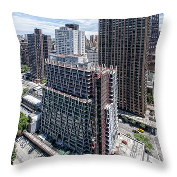 Jun2014rearabovesw Throw Pillow by Steve Sahm