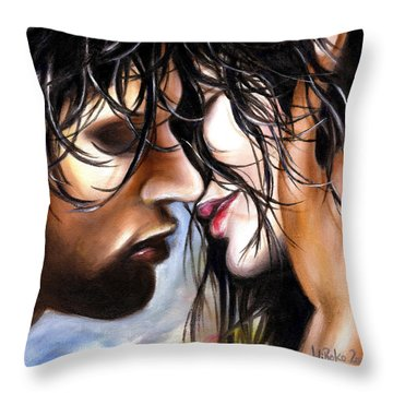 June Breeze Throw Pillow