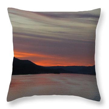 Juneau Alaska Throw Pillow