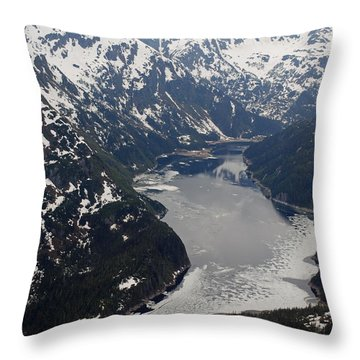 Juneau Backcountry Throw Pillow