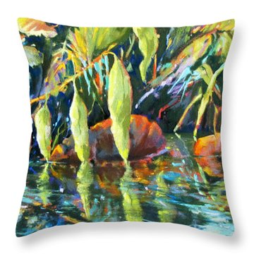 Jungle Reflections 2 Throw Pillow