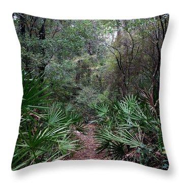 Jungle Trek Throw Pillow