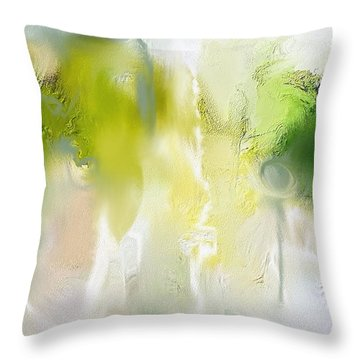 Juniper Brush Throw Pillow
