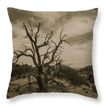 Juniper Tree Utah Throw Pillow