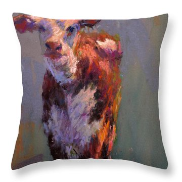 Juno Throw Pillow by Susan Williamson