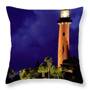 Jupiter Light Throw Pillow