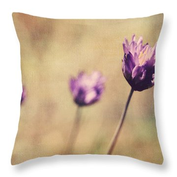 Just A Breath Away Throw Pillow by Laurie Search
