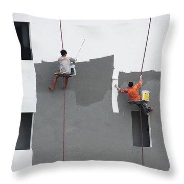Hang Throw Pillows