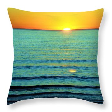 Just A Minute To Spare Throw Pillow
