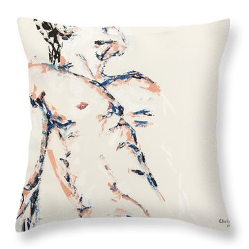 Just Be Just Be Just Be Throw Pillow
