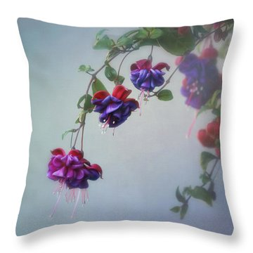 Just Because Throw Pillow by Kim Hojnacki