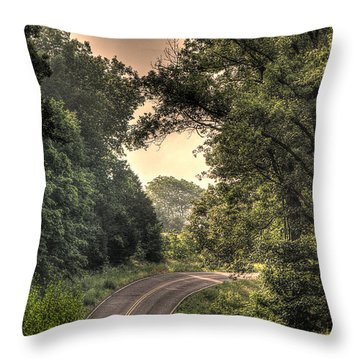 Just Before B Throw Pillow by William Fields