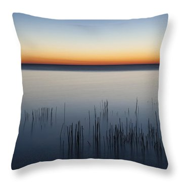 Just Before Dawn Throw Pillow by Scott Norris