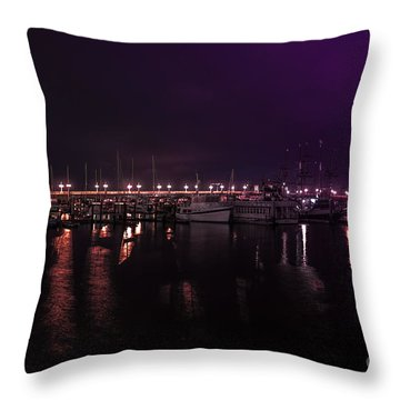 Just Before Sunrise Throw Pillow