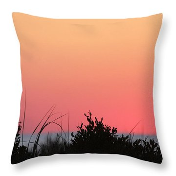 Just Before The Sunrise Throw Pillow