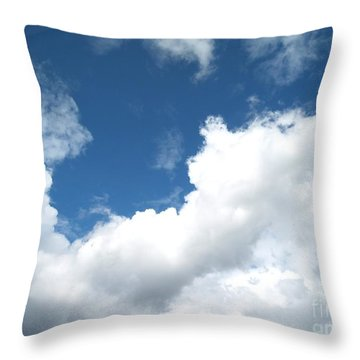 Just Breathe ... Throw Pillow by Susan  Dimitrakopoulos