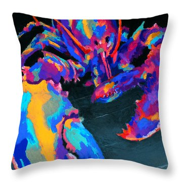 Just Claws Throw Pillow by Stephen Anderson