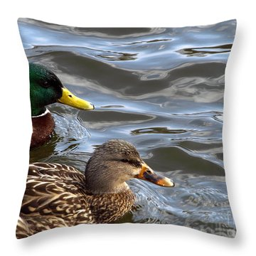 Just Crusin' Along Throw Pillow