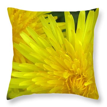 Just Dandy Throw Pillow