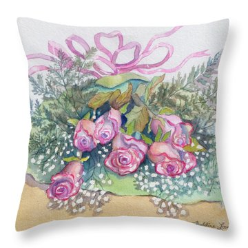 Just Delivered Throw Pillow
