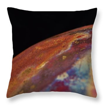 Fifth Dimensional Earth Throw Pillow