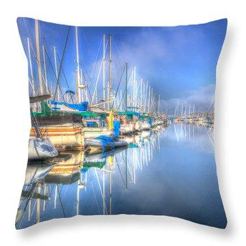 Just Dreamy Throw Pillow by Heidi Smith