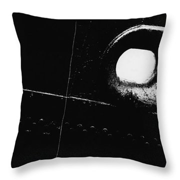 Just Fishin' Throw Pillow by Travis Burgess