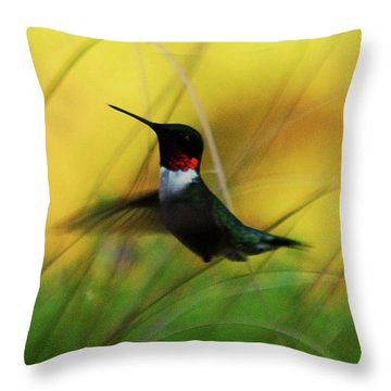 Just Flying Throw Pillow