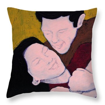 Just Hold Me Tight Throw Pillow