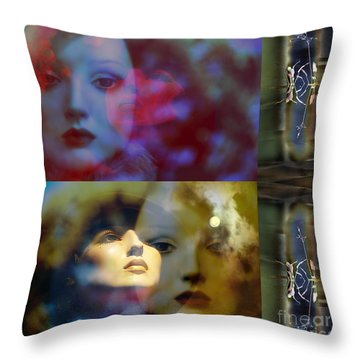 Just Like A Woman  Video Clip Throw Pillow by Rosa Cobos
