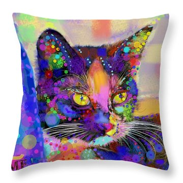 Just Love Me Throw Pillow