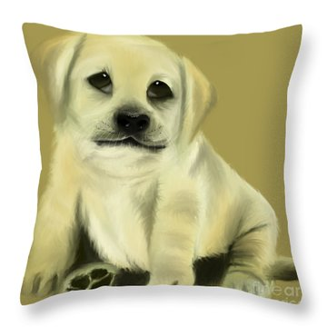 Just Love Me Please Throw Pillow