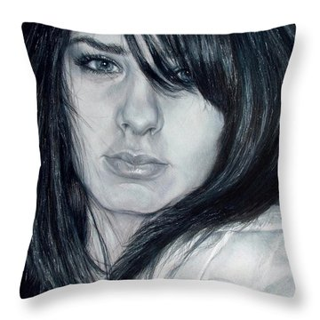 Just Me Throw Pillow by Shana Rowe Jackson