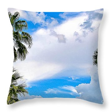 Just Mingling Throw Pillow