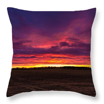 Just Planted  Throw Pillow