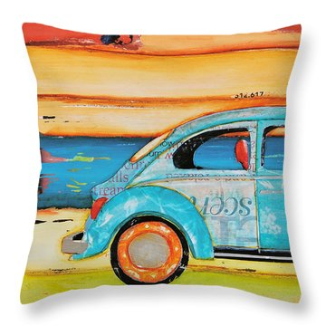 Just Roll With It Throw Pillow