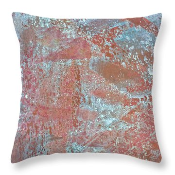 Throw Pillow featuring the photograph Just Rust by Heidi Smith
