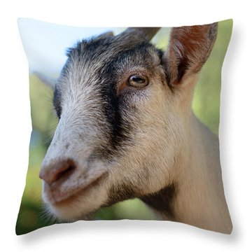 Just Say Chiiiz Throw Pillow