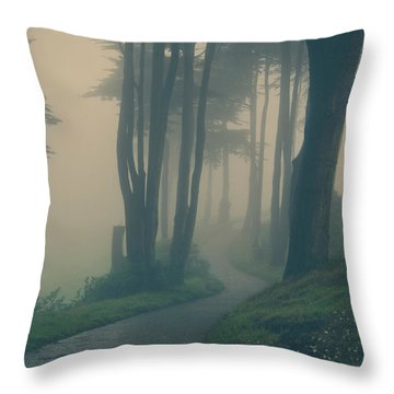 Just Whisper Throw Pillow