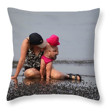 Just You And I Throw Pillow by Karol Livote