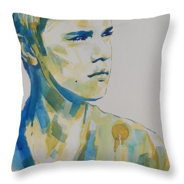 Justin Bieber Throw Pillow