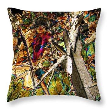 Jungle Dusk Throw Pillow