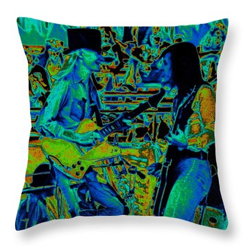 Jwinter #5 Enhanced Colors 1 Throw Pillow