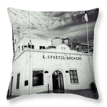 K. Spoetzl Brewery Throw Pillow