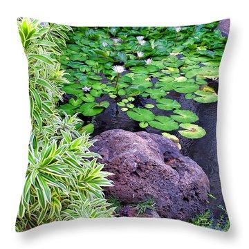 Kaanapali 8 Throw Pillow by Dawn Eshelman