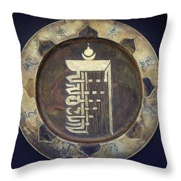 Kalachakra  Throw Pillow