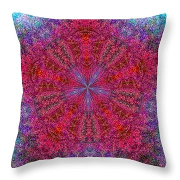 Throw Pillow featuring the photograph Kaleidoscope 2 by Robyn King